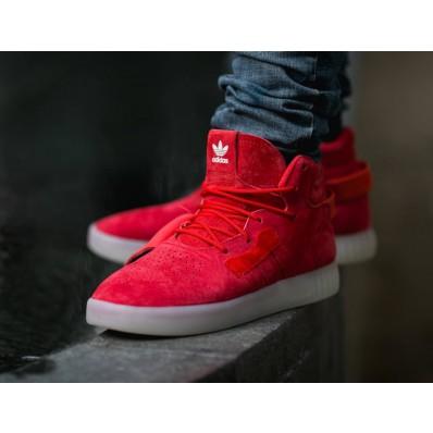 adidas tubular homme rouge