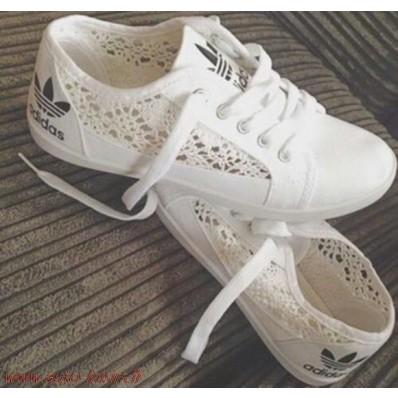 chaussure adidas avec dentelle femme