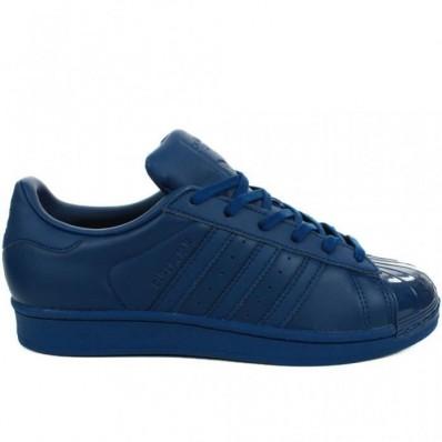 femme adidas superstar bleu