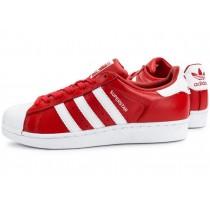 adidas superstars rouge blanc
