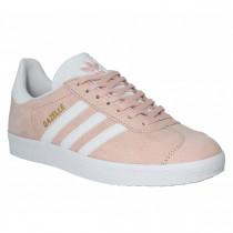 chaussure adidas gazelle rose et blanche